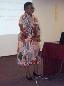 Sibongile shares the three pillars of SAEON