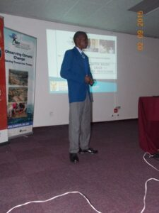"""Vutivi Baloyi - """"My SAEON journey: From learner to scientist"""""""