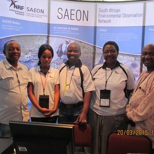 DST-SAEON staff